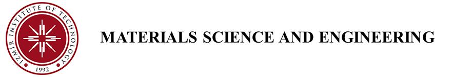 Malzeme Bilimi ve Mühendisliği